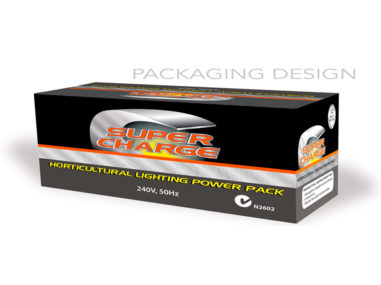 Super Charge package design